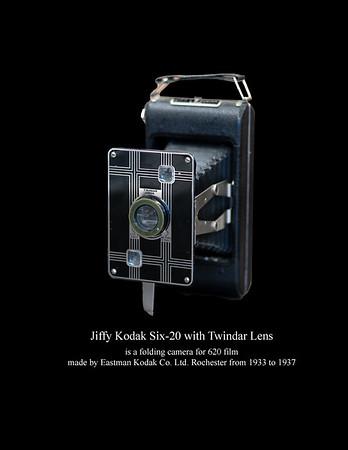 Jiffy Kodak Six-20  - Twindar Lens