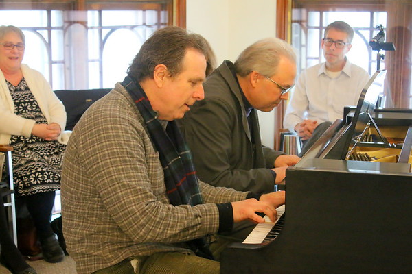 Two pianos, eight hands - Show at NWPL
