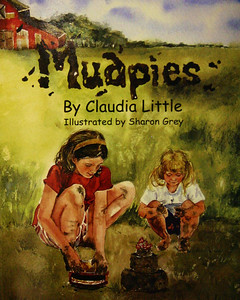 "Claudia Little's latest book, Mudpies, go on sale this month (February 2009).  Dedicated to her two grandsons, Little says she wanted them to know what is was like for children ""before the days of television, computers and electronic games.""  Mudpies helps tell that story.  During a January presentation to students at West Elementary School in Spearfish, Mrs. Little described how this latest book was made, noting that the illustrations -- done by Sharon Grey -- were watercolor paintings with real children used as models."