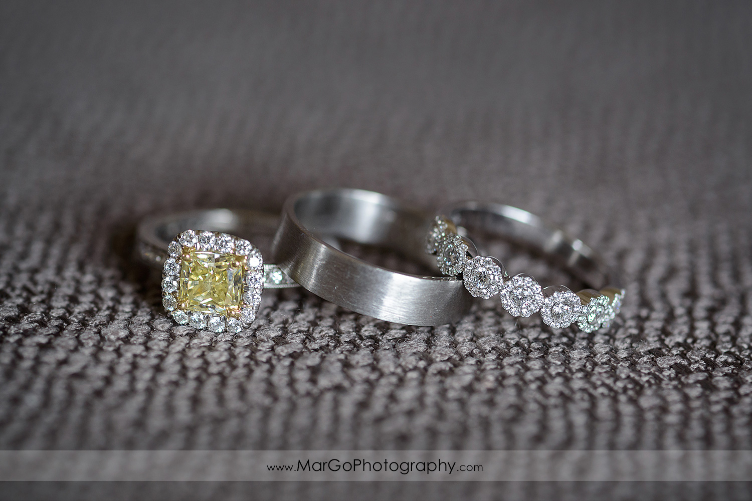 wedding rings at Berkeley City Club