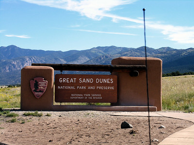 Great Sand Dunes National Park - Labor Day weekend 2006