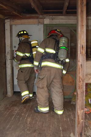 Scottsville, Texas FD Trainning House Burn