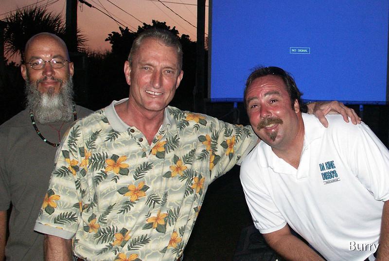 Chris, Mike and Scott at Da Kine's Movie night!