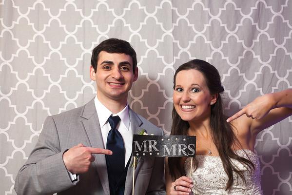 photo booth: brandi and matt's wedding