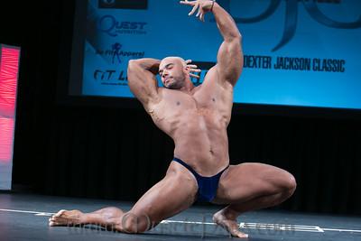 Sergio Oliva Jr Guest Posing