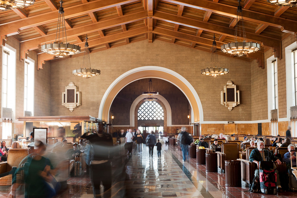 . L.A. Union Station Main Concourse   (Courtesy  METRO PHOTOGRAPHY DEPARTMENT)