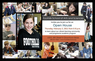 January 2010 Open House Flyer
