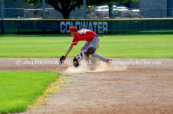 UC vs Coldwater Sandy Koufax Game 6-27-2014
