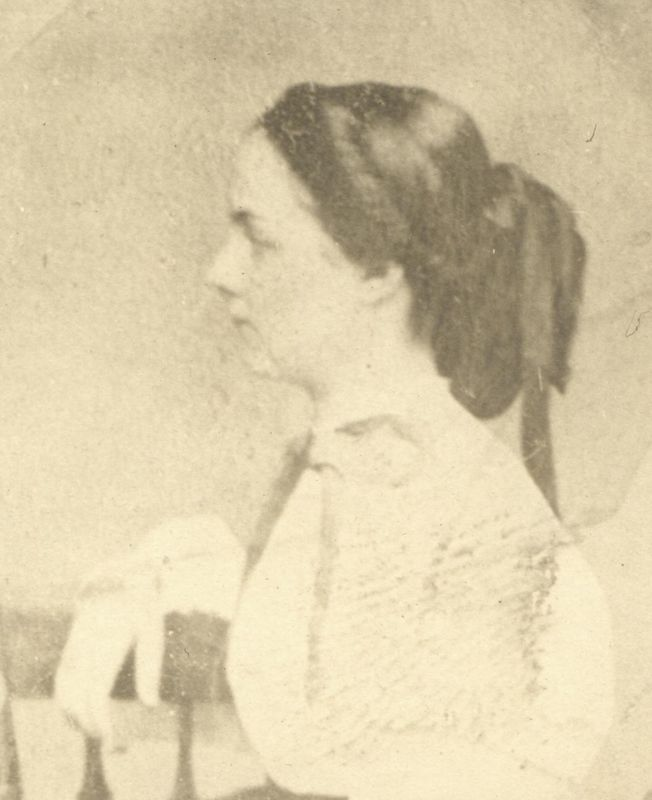 Annie Adelaide Bush first wife of Franklin Dyson Stevens and the mother of all his children.