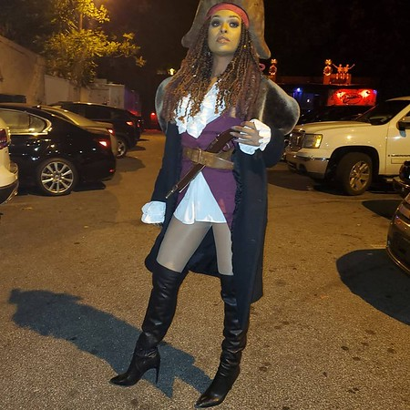 Captain Jack Sparrow Twin Sister, Jackie Sparrow - October 31, 2019