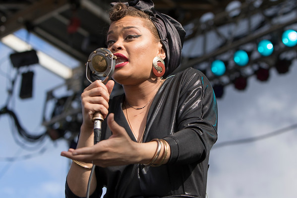 Andra Day performs on the PreferredOne Stage on day one of the 2016 Basilica Block Party on July 8, 2016 at the Basilica in Minneapolis, Minn. Photo Credit: Matt Blewett/Matte B Photography