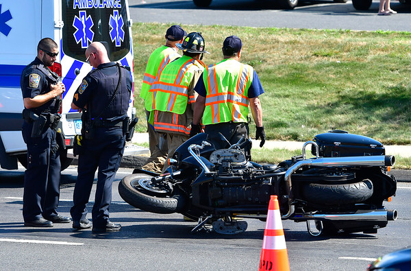 8/20/2019 Mike Orazzi | Staff One man was injured during a motorcycle accident Thursday afternoon in the area of Mountain Road and Middle Street.