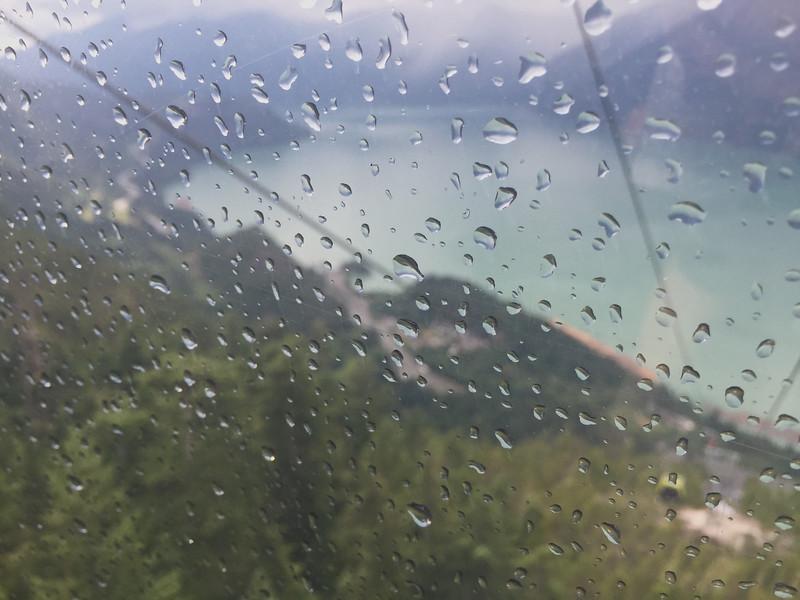 Going Down Sea to Sky Gondola