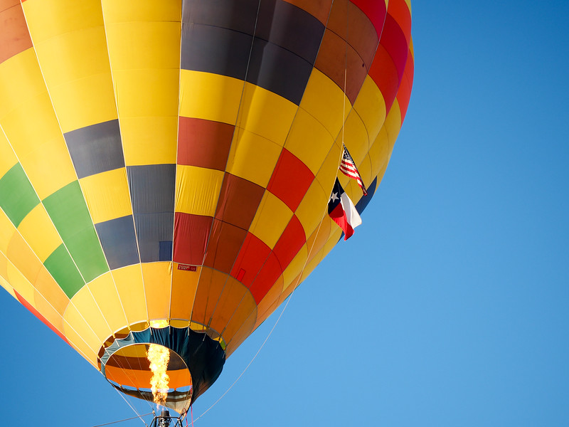 Ballooning in Longview, Texas