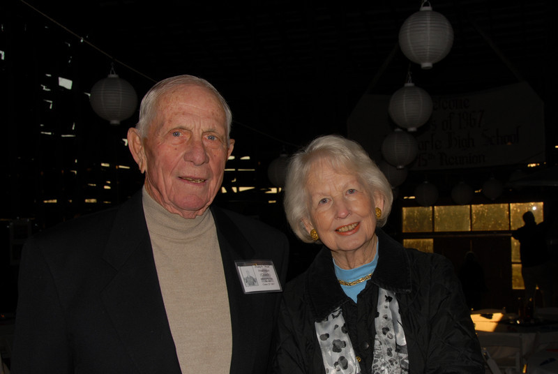 """Ralph """"Ace"""" Harrison (Coach) and his wife"""