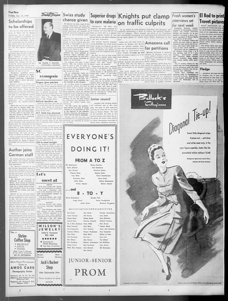 Daily Trojan, Vol. 37, No. 52, January 18, 1946