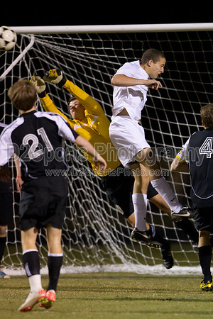 Mt Tabor Spartans vs RJR Demons Men's Varsity Soccer 10/24/2011