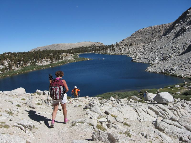 back down to Lake #5