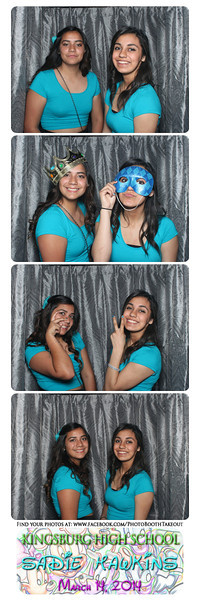 KHS 2014 Sadie Hawkins - The Photo Booth Strips