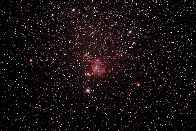 Gum 5 - Sh2-301 Nebula - 28/2/2014 (Processed stack)