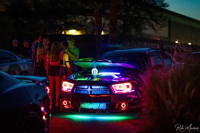 Launch Auto Sports Cars Under the Stars