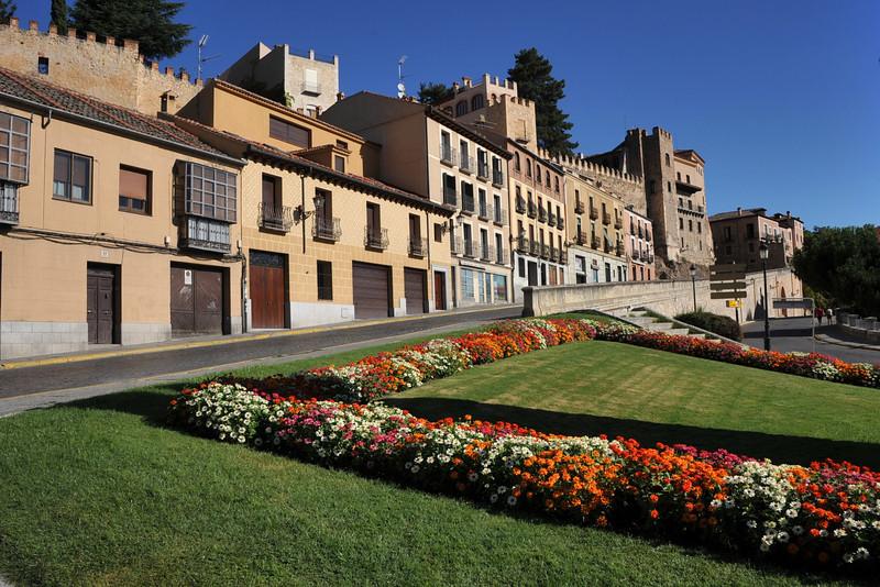 España, Segovia. World heritage city.