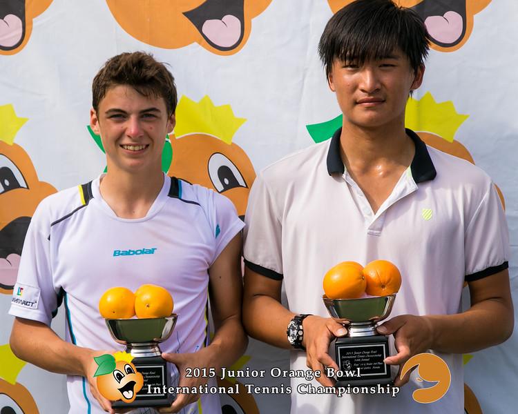 Timofey Skatov (Russia) and Seon Yong Han (Korea)