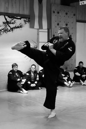 1909 PD Hapkido Black Belt Test