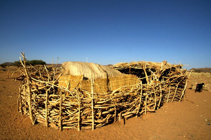 Behausung der Sudanesischen Bauern
