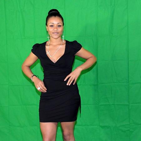 Model Antoinette Jones