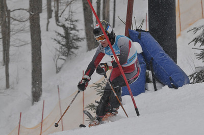 Provinciaux k2 Slalom Sutton 27 Fevrier PM
