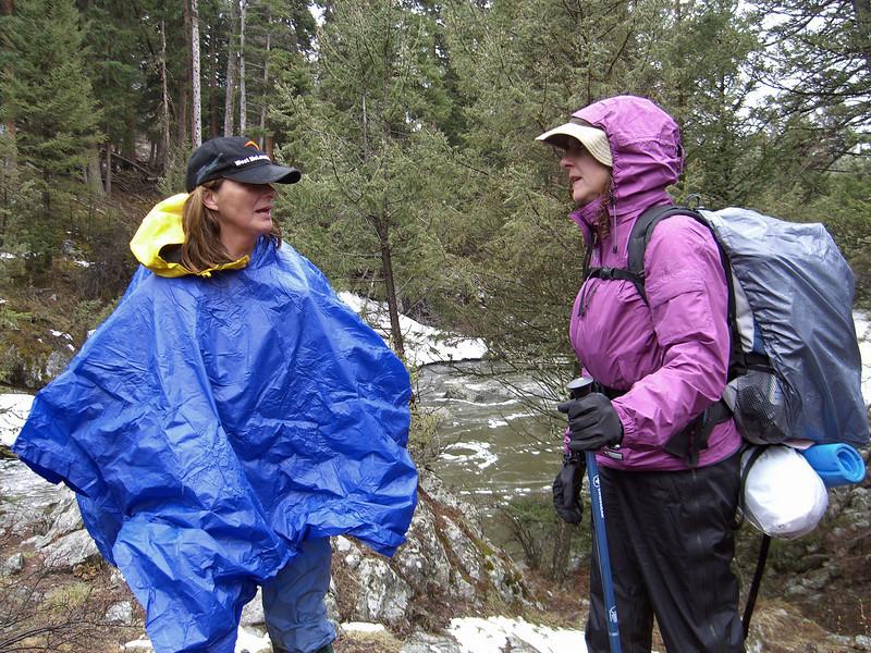 May 9, Hellroaring creek crossing