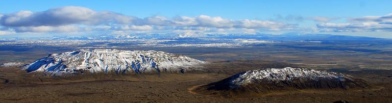 Bjarnafell og Miðfell