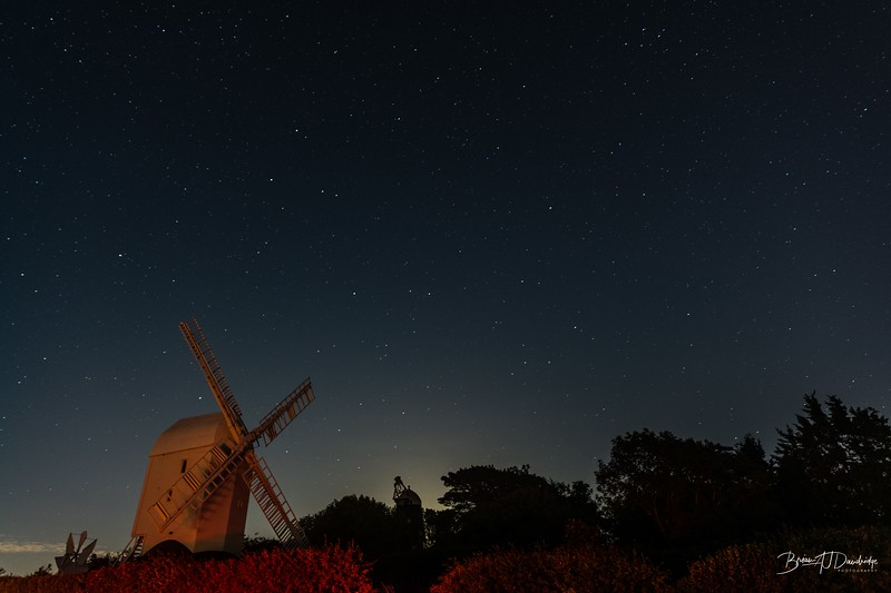 Jack & Jill under the night sky