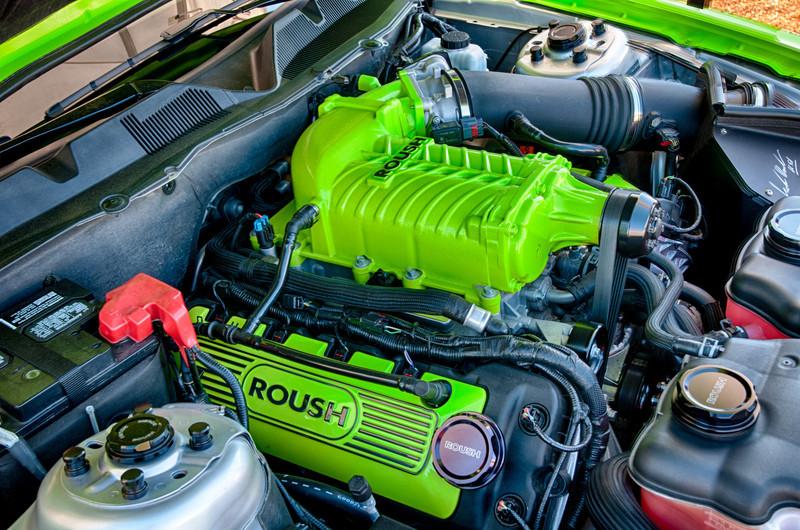 Roush Mustang Engine