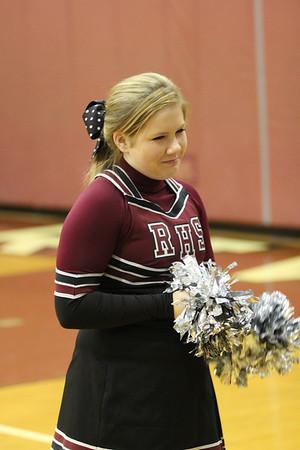 RRHS Cheerleaders and Fans