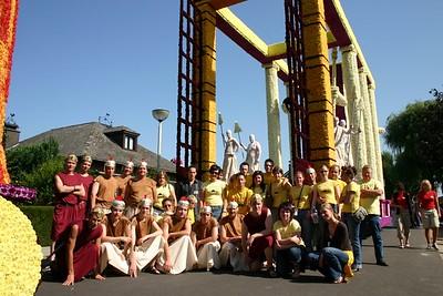 Bloemencorso 2006 - Groepsfoto's
