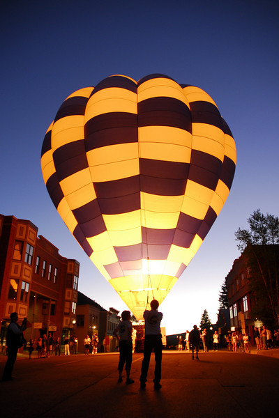 Telluride Balloon Glow