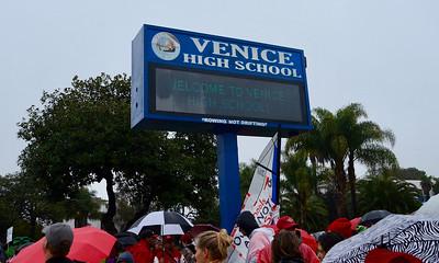Teachers' Strike  Day 4 - Venice HS