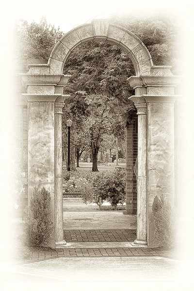 "WPP1233  ""Archway in Sepia"""