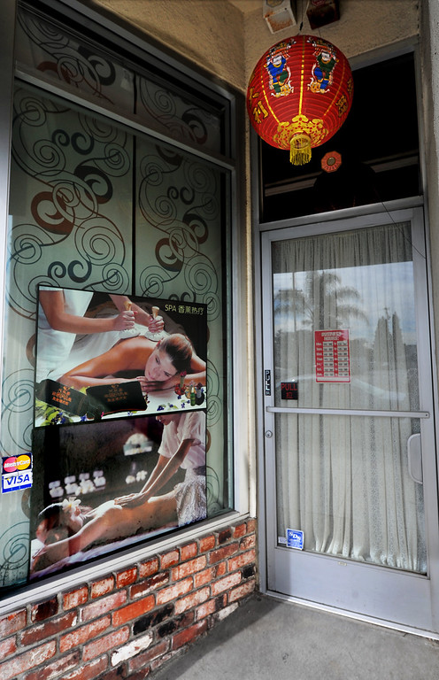 . Nguyen Thao, one of the massage establishments on Valley Boulevard in San Gabriel. City of San Gabriel received a report on massage establishments and  there are 52 of them in the small city Thursday, November 7, 2013. Photo by Walt Mancini/Pasadena Star-News)