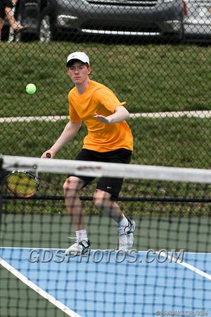 VARSITY BOYS TENNIS VS CALVARY  04-04-14
