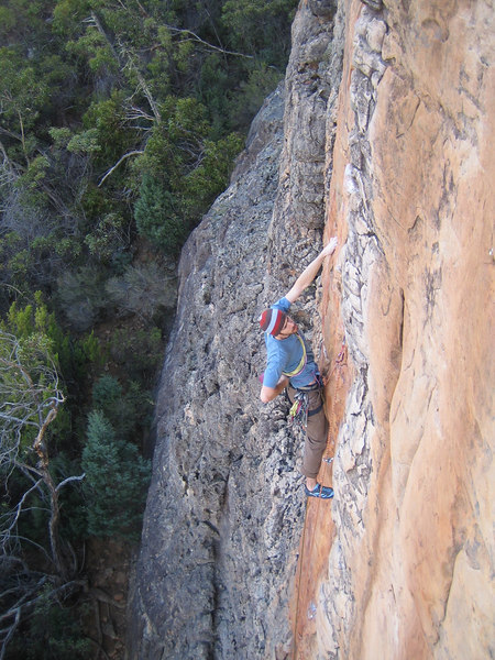 Dave on Soweto(21) Summer Day Valley, Grampians