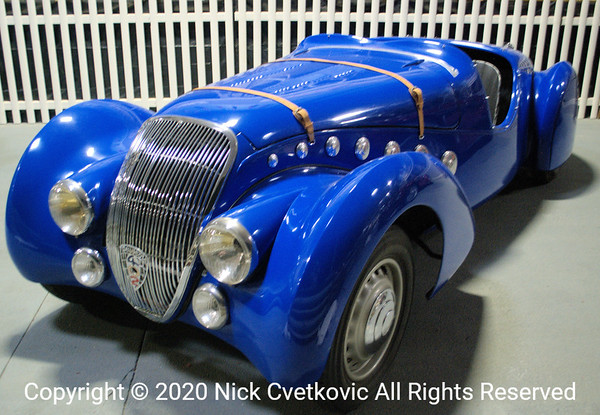 1936  Aston Martin LeMans This can NOT be an OEM paint job