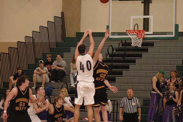 Var Boys Basketball vs Nebraska City Districts