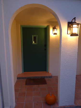 House Painting : Front Door, Sep 2011