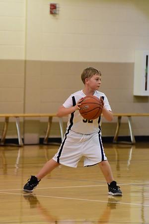 Middle School Boys Basketball 2016-17