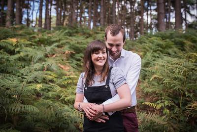 Jess & Iain pre - shoot