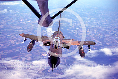 USAF Republic F-105 Thunderchief Aerial Refueling Pictures