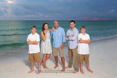 Robinson Family Panama City Beach 2016